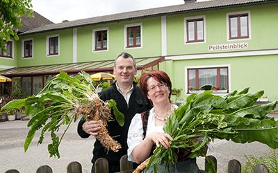 Landgh. Brennerei Peilsteinblick Krenn
